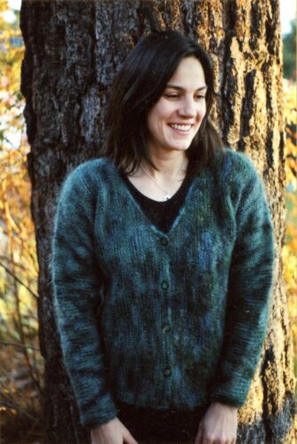 Knitting Pure /& Simple Pattern 202 Easy Knit Women/'s Side to Side Cardigan