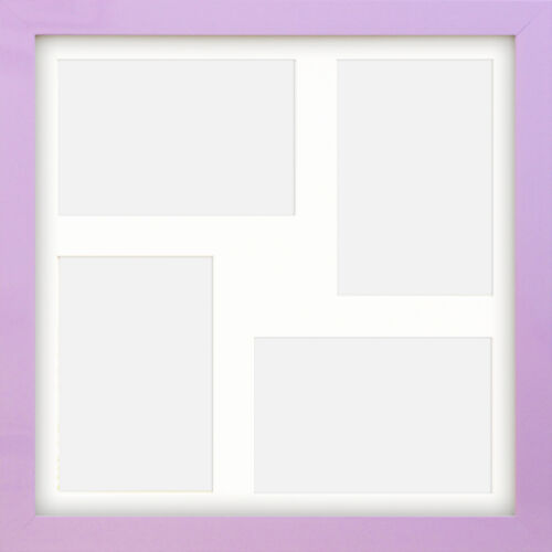 Photo Frame Instagram Coloured Lilac Square Multi Picture Collage 4x4 6x4 12x12