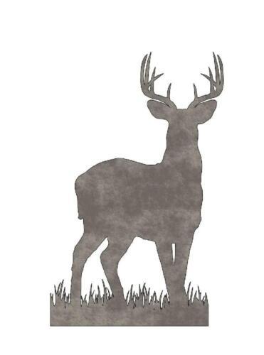 Plasma Cut Metal Shape DER71-M Deer Buck
