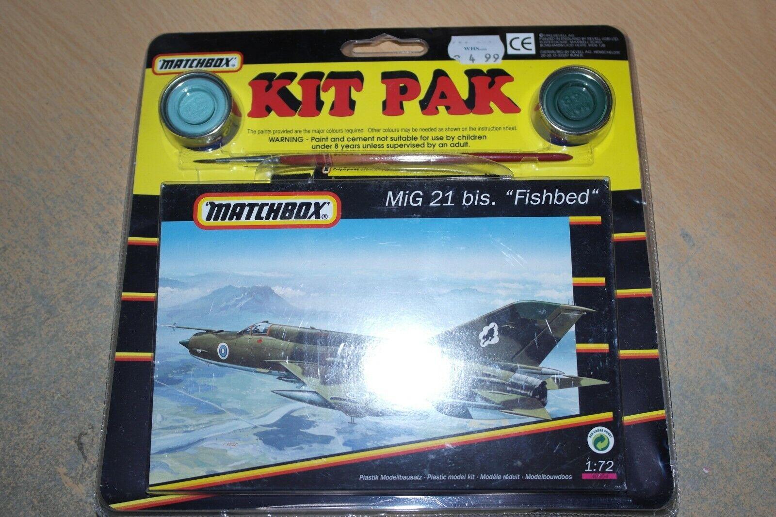 MATCHlåda MIG 21 BIS FISHBED SET 40054