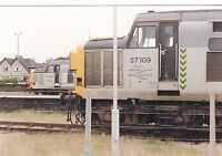 British Rail 37109 & 37905 Hereford 6x4 inch Rail Photo