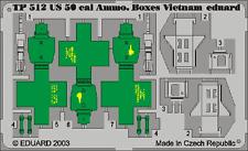 EDUARD TP512 1/35 US Cal.0.50 Ammo. Boxes Vietnam