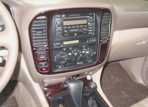 Details about TOYOTA LAND CRUISER FIT 1998 1999 2000 2001 02 STYLE INTERIOR  WOOD DASH TRIM KIT