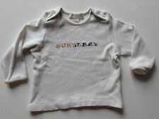 Pre-Loved 100% Genuine By Burberry Baby Boy Top / Jumper With Logo. 6 Months