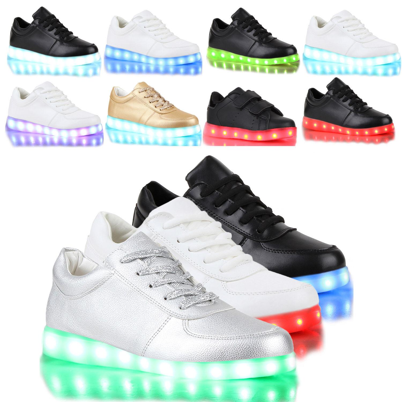 Schuhe Led 79863 Damen Farbwechsel Kinder Leuchtend Turnschuhe Ivm7bY6fgy