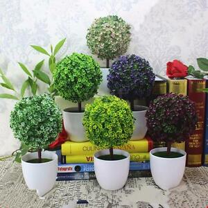 image is loading artificial topiary tree amp ball plants in pot artificial topiary tree ball plants pot garden