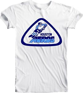 Men-039-s-HOUSTON-AEROS-DEFUNCT-WHA-HOCKEY-NHL-Tee-T-Shirt-Handmade-Team-Sports