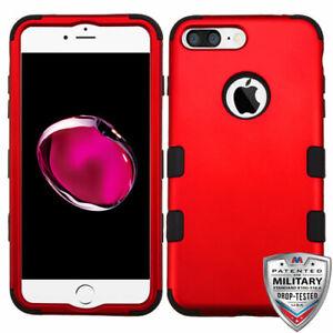 MYBAT-Titanium-Red-Black-TUFF-Hybrid-Case-for-iPhone-8-Plus-7-plus