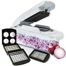 Vegetable Onion Food Chopper Pro - Slicer Dicer for Fruit Onions and Other Veget