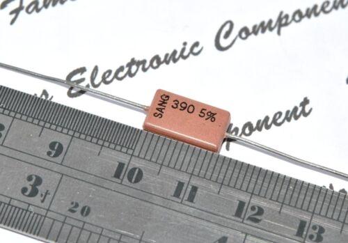 2pcs SANG 390P 500V 5/% Axial Silvered Mica Capacitor 390PF