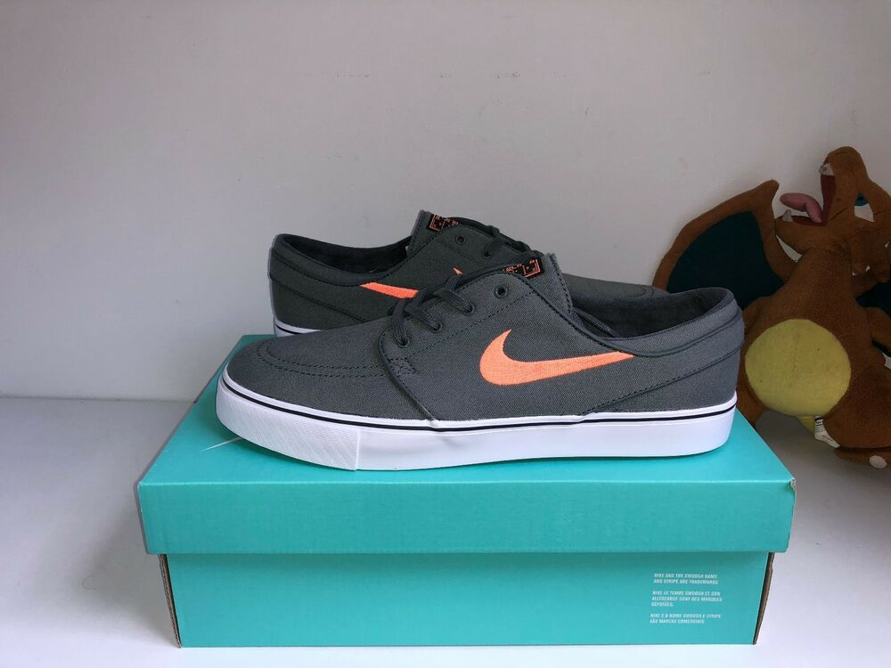 Nike Stefan Janoski Baskets-Gris/Orange/Vert [10 US-UK 9]-