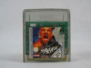 Wcw Mayhem Nintendo Game Boy Color * Región libre * Cartucho