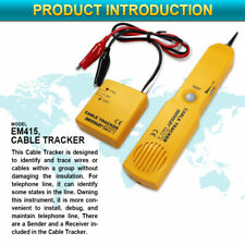Wire Tracker Network Cable Tester Telephone Line Finder Tone Generator Probe Kit