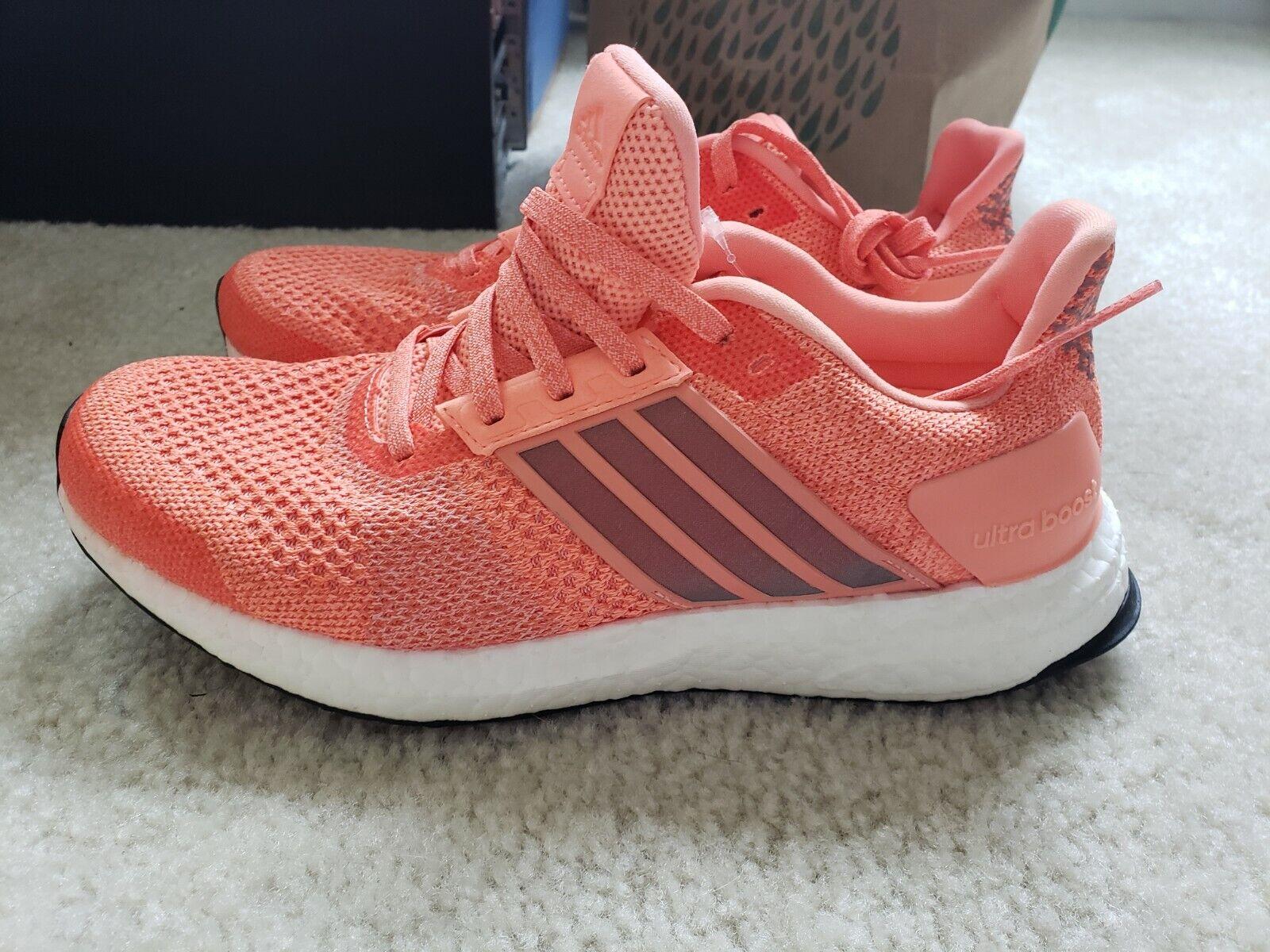 Adidas-Mujer Running-Ultra Boost St-Nuevo-Us 7-Naranja