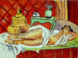 MATISSE-HAND-PAINTED-OIL-AFTER-Henri-Matisse-INVEST-sexy-GIFT-UNIQUE-RARE-ART