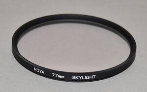 Genuine-Hoya-77mm-Skylight-filter