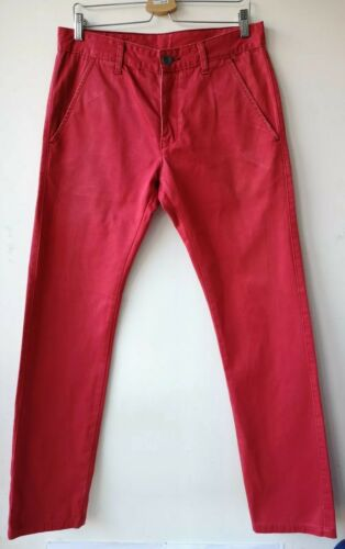 450 Dr W32 L34 Denim Chino Donk Rosso Jeansmakers wfIrqf