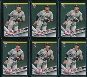 2017-Topps-Team-Set-Aaron-Judge-RC-NYY-16-Rookie-6-Card-Lot-New-York-Yankees