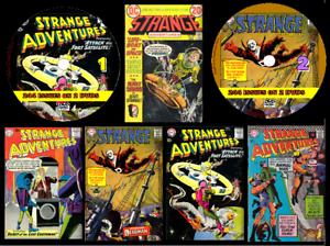 Strange Adventure Comics 1-244 On 2 PC DVD Rom's (CBR FORMAT)