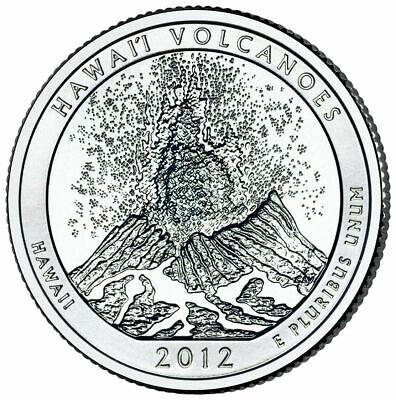 2012 P Quarter HAWAII NATIONAL PARK ATB Philadelphia ~ UNC Uncirculated 2nd