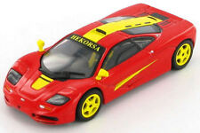 McLaren F1 GTR (Red with Yellow Flashes) 1:43