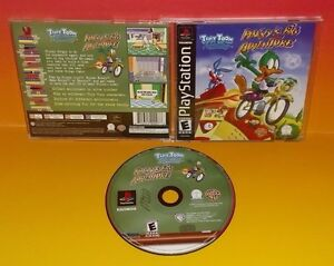 Tiny Toon Adventures: Plucky's Big Adventure - Playstation 1 2 PS1 PS2 Rare Game