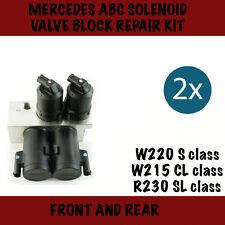 Mercedes ABC (Active body control) 2x Valve block repair kits , W220 ,W215,R230