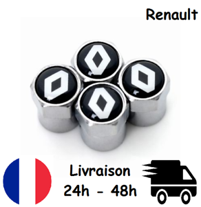 4x-Bouchons-de-valve-RENAULT-voiture-moto-cadeau-France-valves-tire-caps-cap