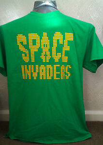 SPACE-INVADERS-RETRO-GEEK-CHIC-MENS-HEAVY-T-SHIRT