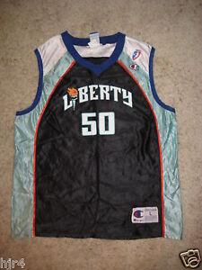 Rebecca-Lobo-50-New-York-Liberty-UCONN-WNBA-Jersey-LG-L