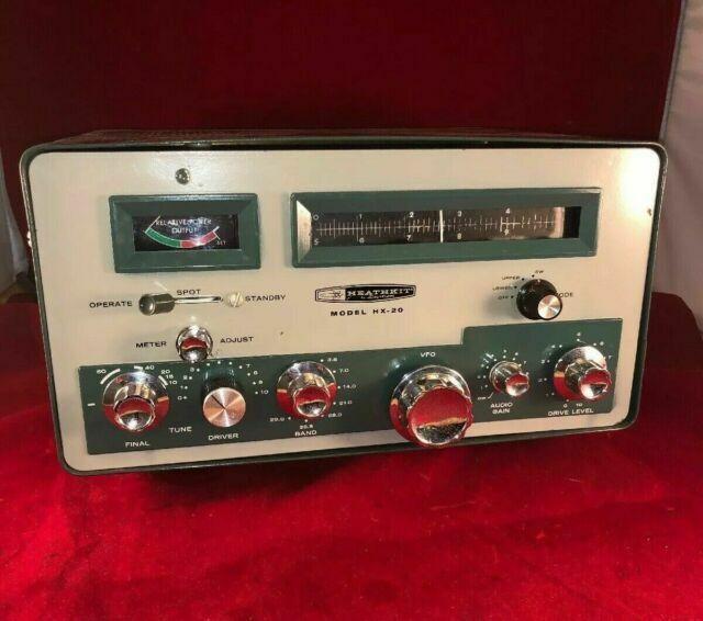 Heathkit Hx 20 Original Vintage Manual For Ham Radio Transmitter For Sale Online Ebay