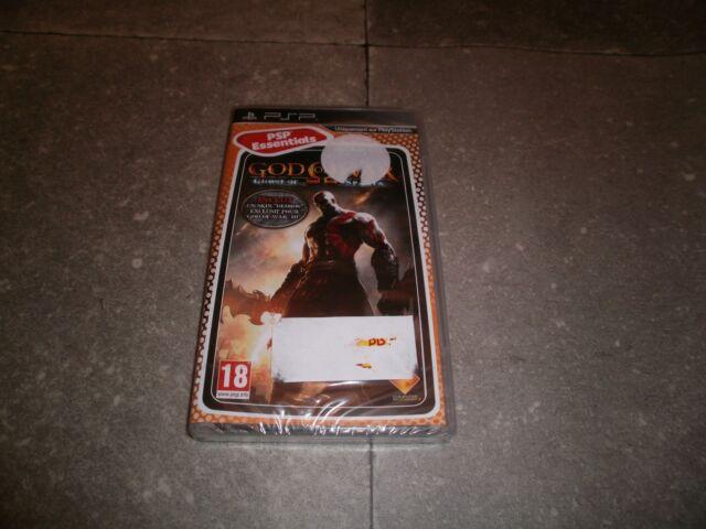 JEU PSP version Française: GOD OF WAR: GHOST OF SPARTA - NEUF - sous blister