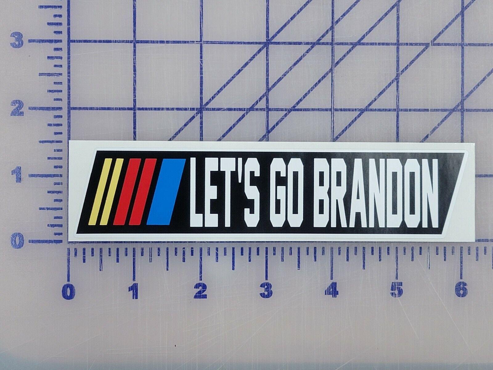 "Let's Go Brandon #FJB Vinyl Decal Sticker Save America 6"" outdoor bumper sticker"