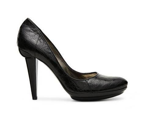 NIB New BOTTEGA BOTTEGA BOTTEGA VENETA Reptile Leather Pump shoes Size 41 (US 11) MSRP  995+tax 12361c