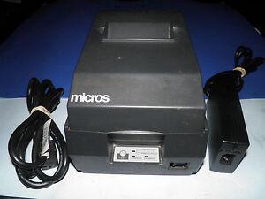 Bar POS Receipt Printer Serial w power supply EPSON TM-U200B M119B  Kitchen