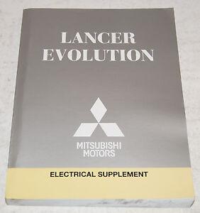 2013 mitsubishi lancer evolution factory shop electrical wiring rh ebay com