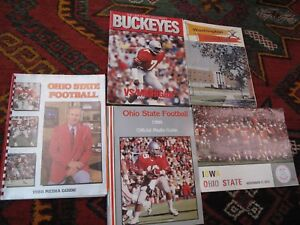 Details about Lot 5 College Sports OSU Ohio State Football Program Media  Guide Illus  Buckeyes