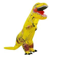 Adult T-Rex Raptors Jurassic Inflatable Dinosaur Costume Fancy Dress Party Props