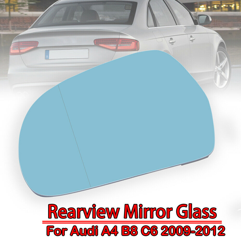 LEFT Door Wing Rear view Heated Mirror Glass For Audi A3 S3 A4 S4 A6 2001-2008