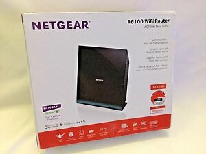Details about Netgear AC1200 867 Mbps 5-Port 10/100 Wireless AC Router  (R6100)