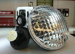 24v-Land-Rover-Defender-Lobo-OEM-Original-WIPAC-amr6524-LED-claro-luz-antiniebla