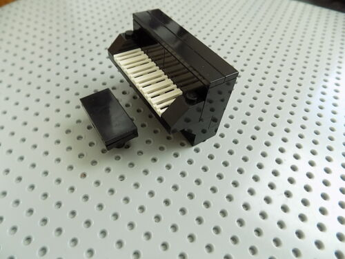 Lego Piano with Bench for Minifigures
