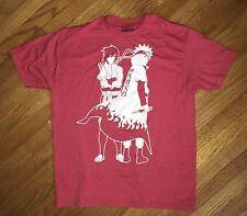 Naruto Shippuden T Shirt Men's Size XL Jump Ripple Junction Red