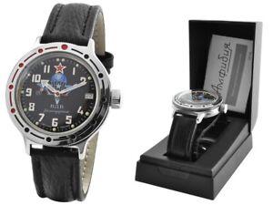 420288 De VerrüCkter Preis Sonstige Russische Uhren Falschirmspringer Vostok Military Taucheruhr Automatik Wdw 2416