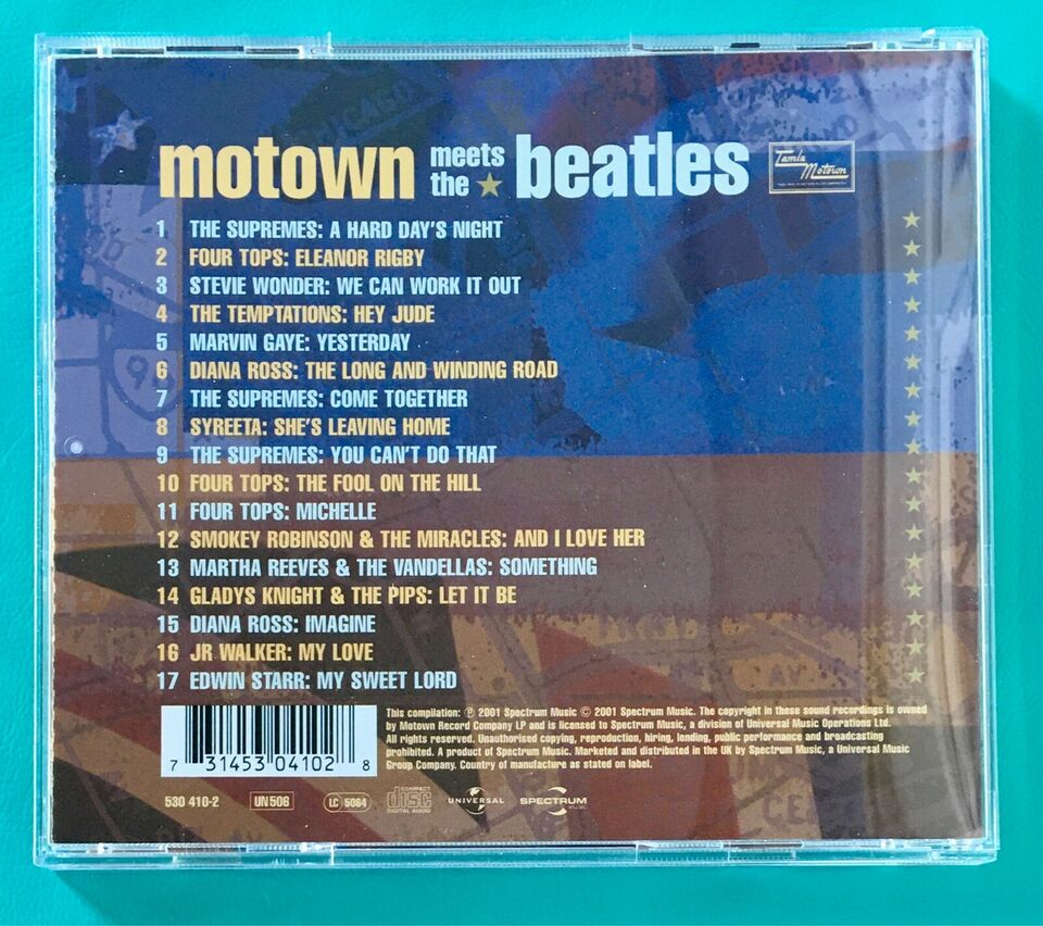 Motown meets The Beatles: Diverse, pop