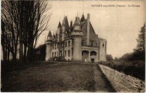 CPA Savigny-sous-Faye - Le Chateau (111730)