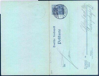 Brillant Deutsches Reich Ganzsache Michel: P46 B Gestempelt #1533