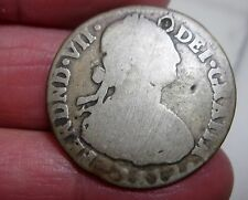 1819 NR-FJ (COLOMBIA) NEW REINO (2 REALES ) SILVER ---VERY RARE--- NUEVO REINO--