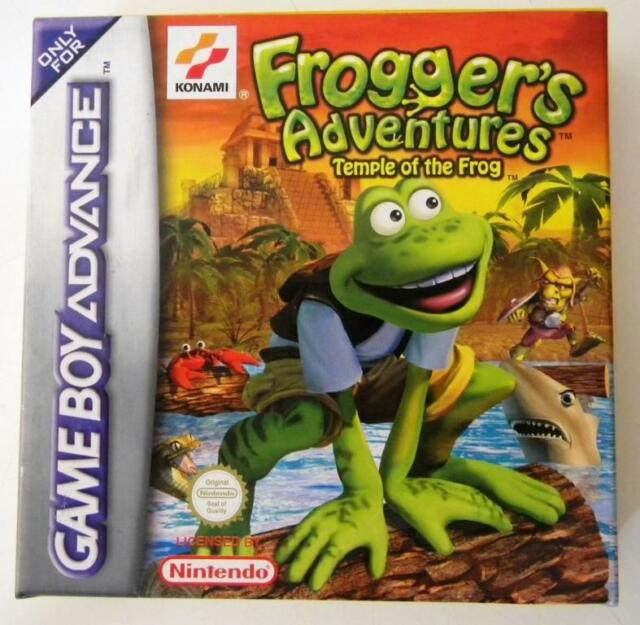 FROGGER'S ADVENTURES TEMPLE OF THE FROG NINTENDO GAME BOY ADVANCE NUOVO