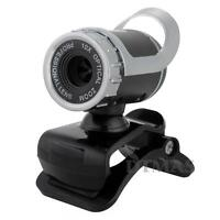 USB 0.3 Mega Pixel Webcam Web Cam Camera with Mic Microphone for Laptop PC Skype